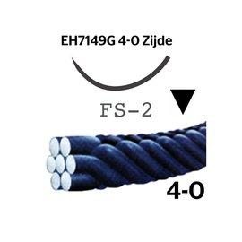 EH7149G Silk® 4-0 met FS-2 (19mm) naald