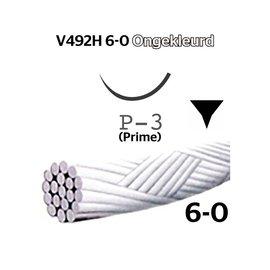 V492H Vicryl® 6-0 Ongekleurd, met P-3 (13mm) naald