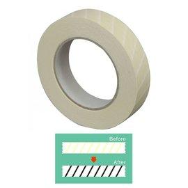 Indicator tape voor autoclaaf 19mm x 50m, per rol