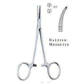 Tekno arterieklem Halstead-Mosquito - gebogen - chirurgisch - diverse maten leverbaar