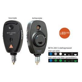 Heine BETA 200 S LED directe oogspiegel 3.5V standaard uitvoering