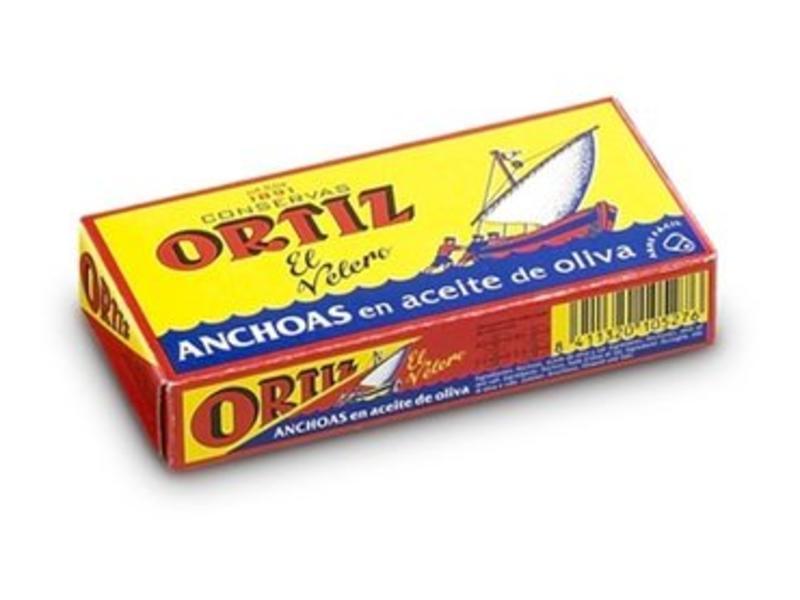 Ortiz Sardellen in Olivenöl