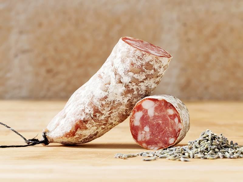 Brandt & Levie Cured Sausage with lavender