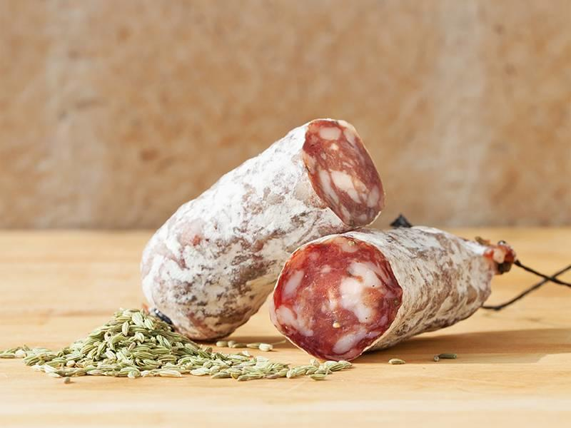 Brandt & Levie Organic cured sausage with fennelseeds