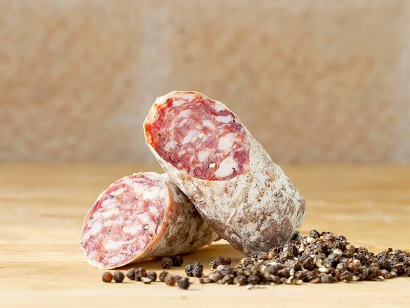 Brandt & Levie Cured sausage with Cubebe pepper