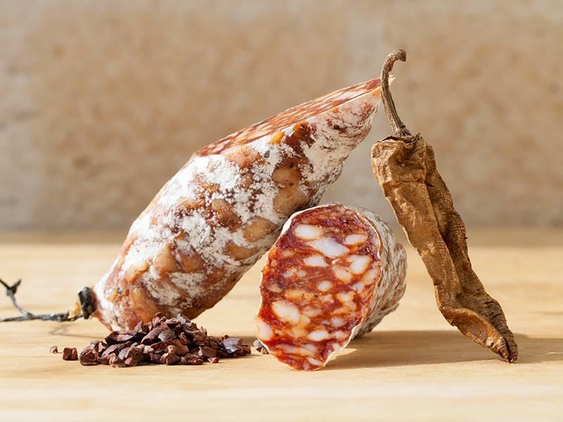 Brandt & Levie Wurst mit chipotle und kakao