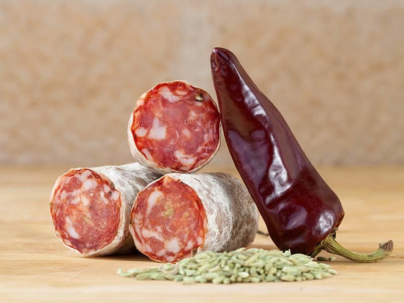 Brandt & Levie Cured Sausage with Piment d'Espelette