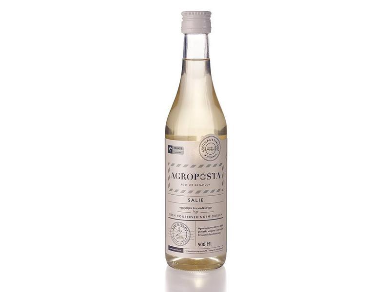 Agroposta Salie siroop op fles