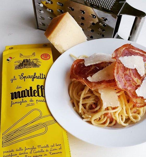 Romige Martelli pasta uit Toscane