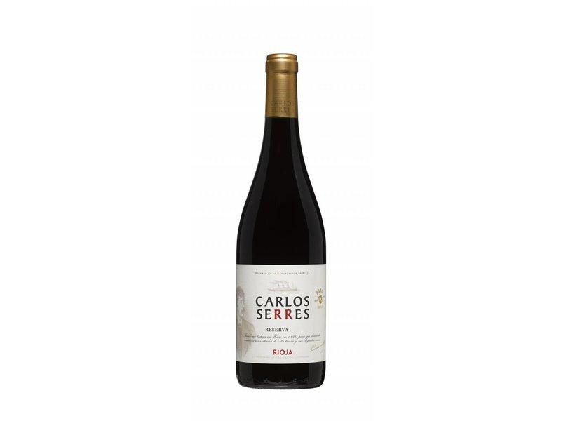 Carlos Serres Rioja Reserva 2012