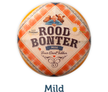 Roodbonter Roodbonter kaas mild