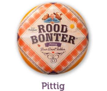 Roodbonter Roodbonter kaas Pittig