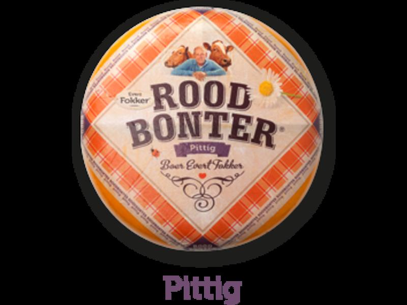 Roodbonter kaas Pittig