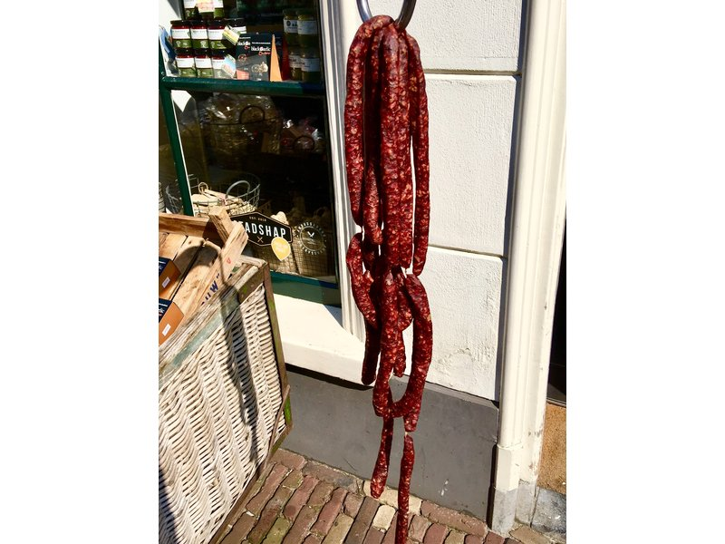 Mienskiep Cured lamb sausage
