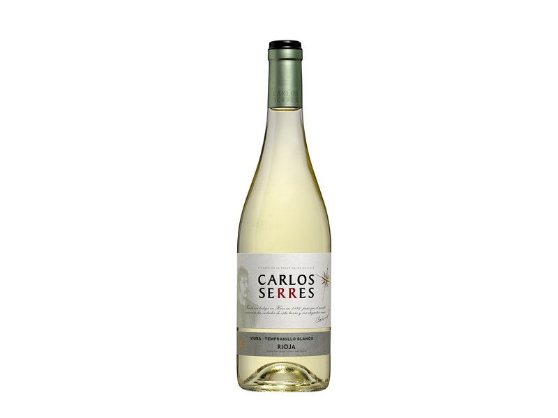 Carlos Serres DOC. Rioja blanco Viura/Tempranillo