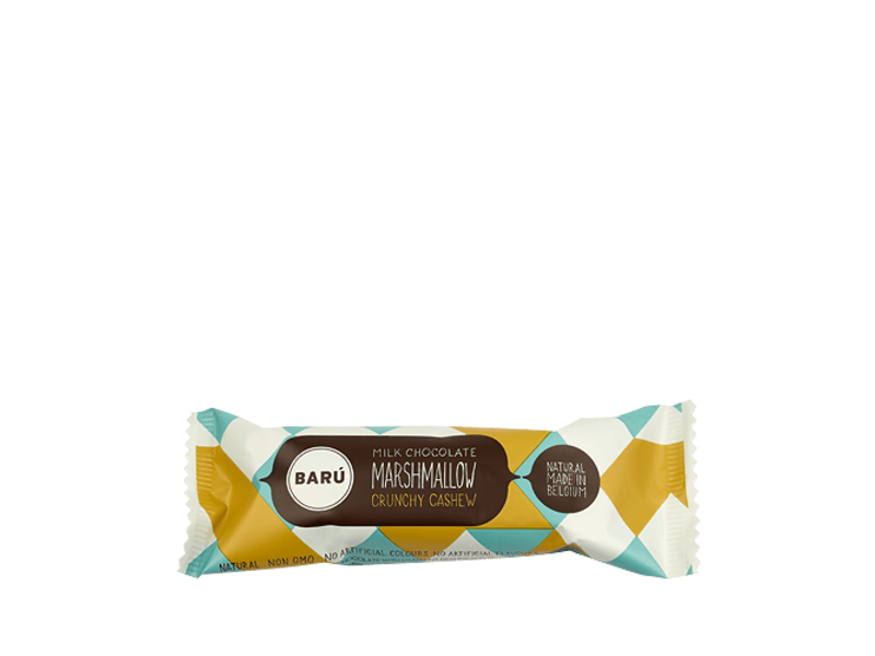 Barú Marshmallow Crunchy Cashew Bar