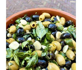 House of Taste Knoflook olijven
