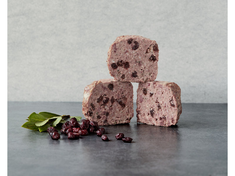Cranberrypaté met Gin - ca. 150gr - Only for the Netherlands