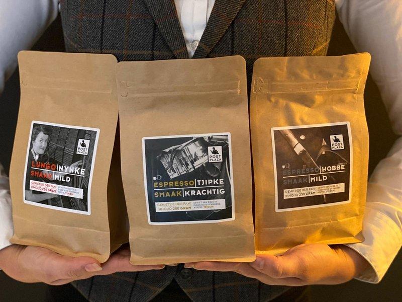 """Post-Plaza Hotel & Grand café Coffee Blend """"Café crème"""" - Nynke"""