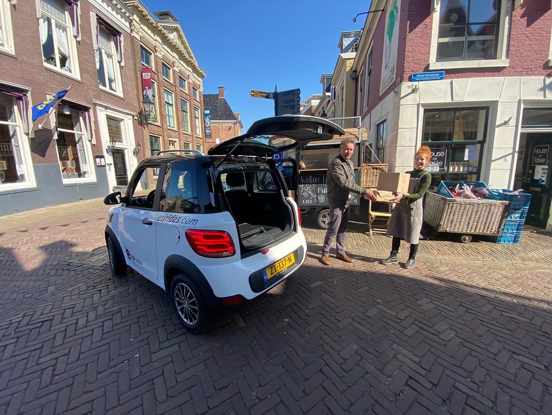 Boodschappen bezorgen in regio Leeuwarden