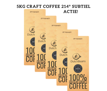 5kg DutchBeans - Craft Coffee Subtiel 214