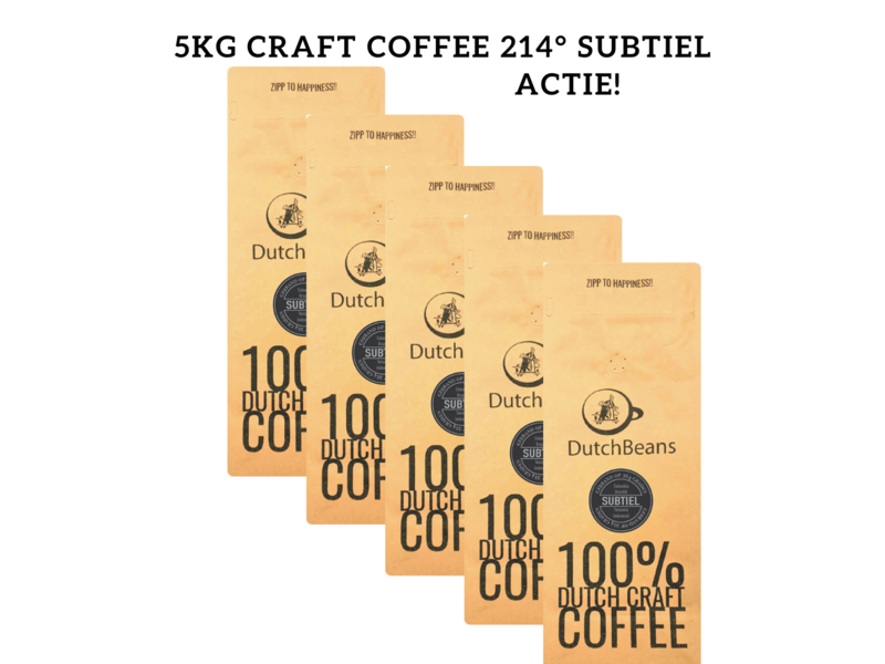 DutchBeans - Craft Coffee Subtiel 214