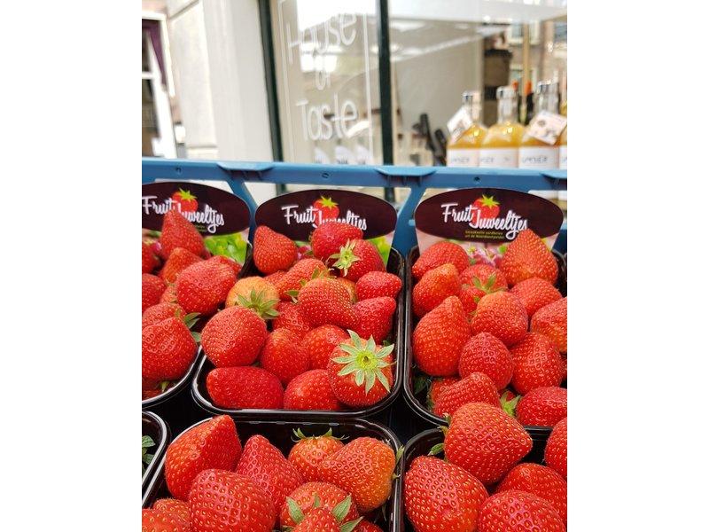 Verse Hollandse aardbeien - Nur für Leeuwarden