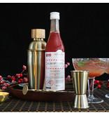 Agroposta Himbeersirup in einer Flasche