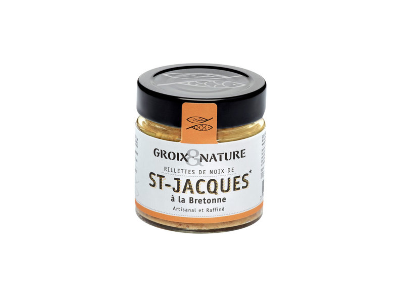 Bretonische Jakobsmuschel-Rillettes