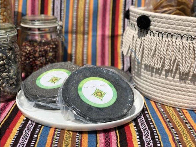 Tortilla  Blauer Mais