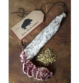 Wild van Wild Dry-cured sausage of wild boar with fennel