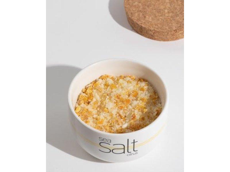Neolea  Citrus salt in a  ceramic bowl