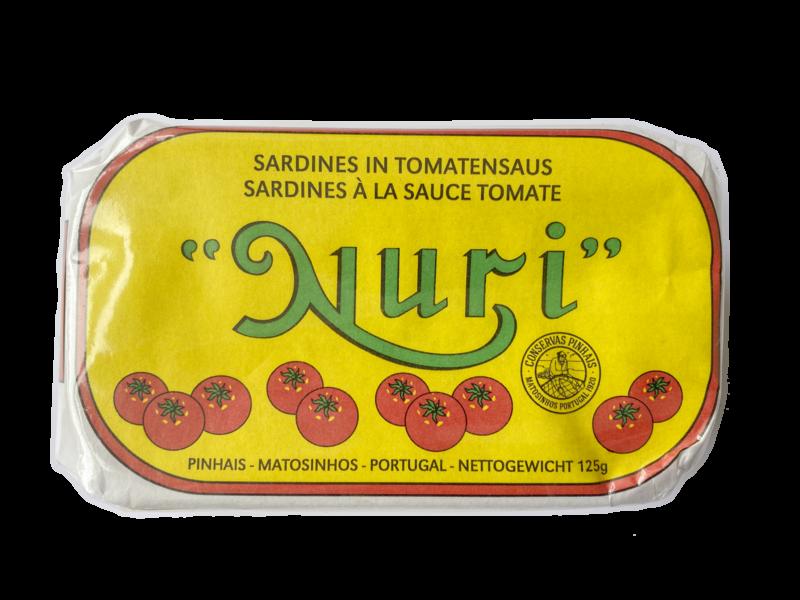 Nuri Sardinen in Tomatensauce