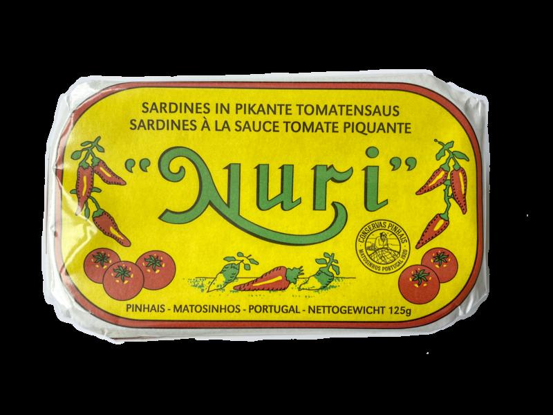 Nuri Sardines in pikante tomatensaus
