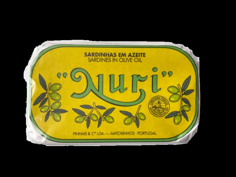 Nuri Sardines in Olijfolie