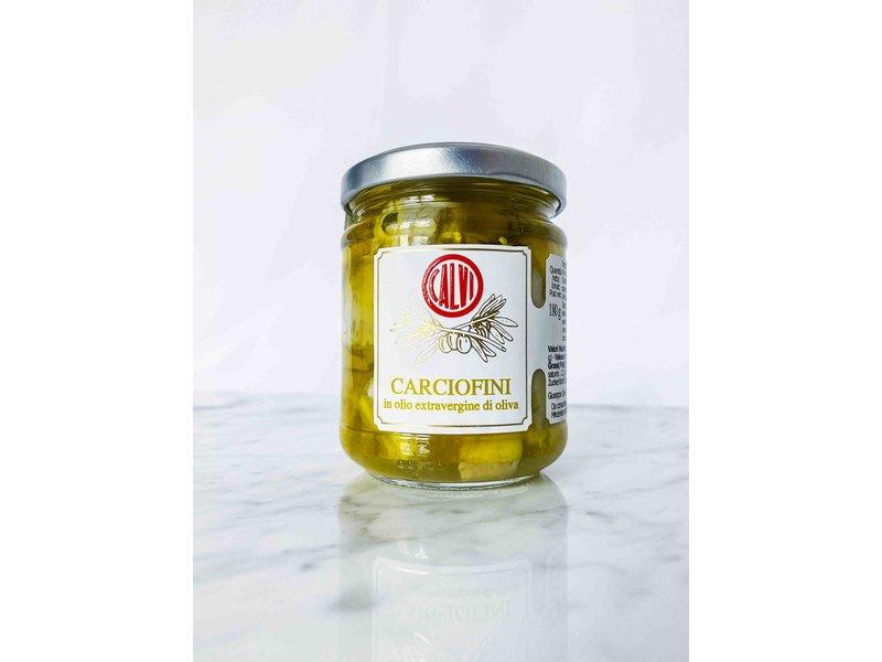 Kleines Artischockenherzen in nativem Olivenöl extra