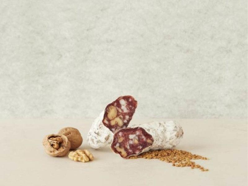 Brandt & Levie Cured sausage with Walnut and Fenugreek