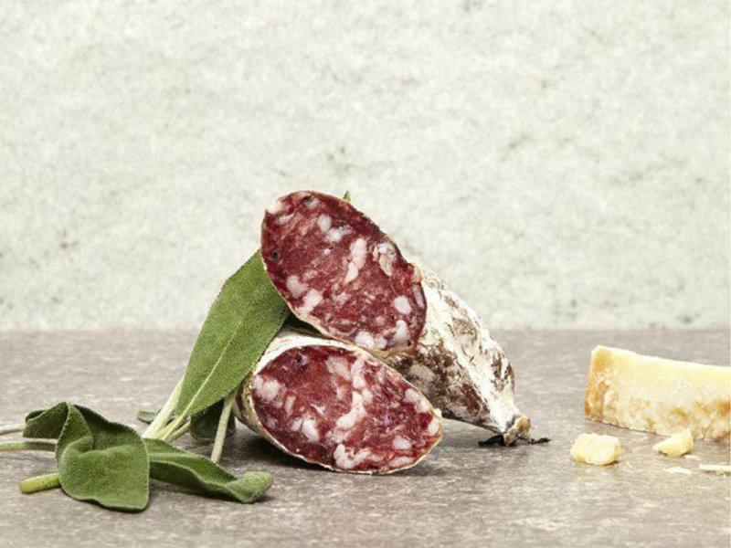 Brandt & Levie Trockenwurst mit Parmigiano & Salbei