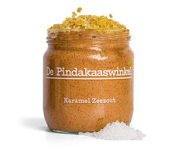 De Pindakaaswinkel Karamel Zeezout