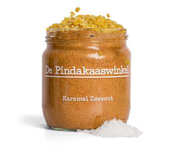 De Pindakaaswinkel Karamell Meersalz