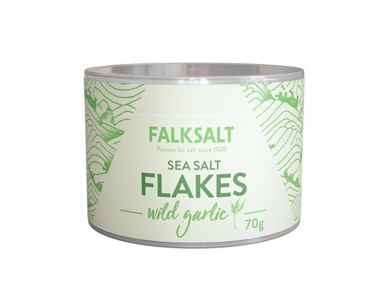 Falksalt Wild Garlic Salt Flakes