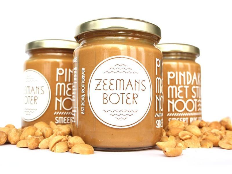 Zeemansboter - Peanutbutter