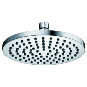 Luxe messing hoofddouche rond 200mmx12mm chroom.