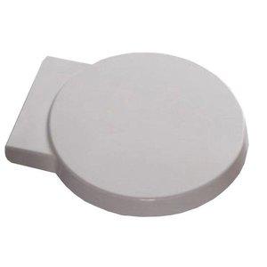 Amor zitting tbv luxe wandcloset 49cm met softclose zitting + deksel kleur: Wit