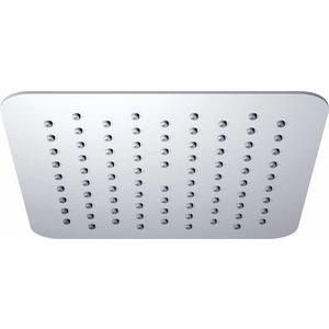 Luxe rvs hoofddouche vierkant 200mmx2mm Ultra plat chroom