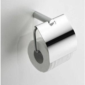 Toiletrolhouder klep chroom