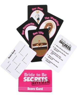 Bride to Be Secrets Spel Vrijgezellenfeest