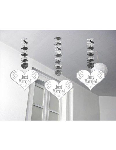 Just Married Hangdecoratie