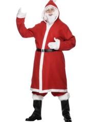 Goedkoop Kerstman Verkleedkostuum 3-delig