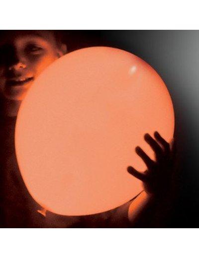 Ballonnen Oranje LED - 5stk